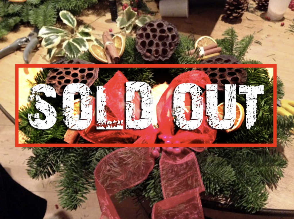 Sold out Christmas Lunch